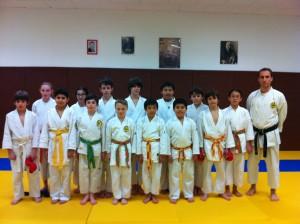 Groupe Jeunes Karatéka 2013