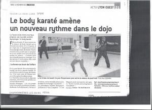 article bodykaraté dec 2015