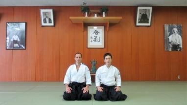 Steve Piazza Aikido Fukuoka 2015