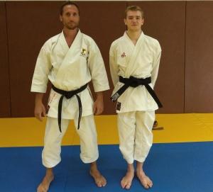 Thomas Baizet et Steve Piazza