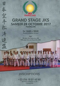 Stage Jks France Octobre 2017