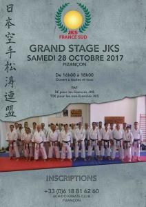 Stage Jks France Octobre 2017
