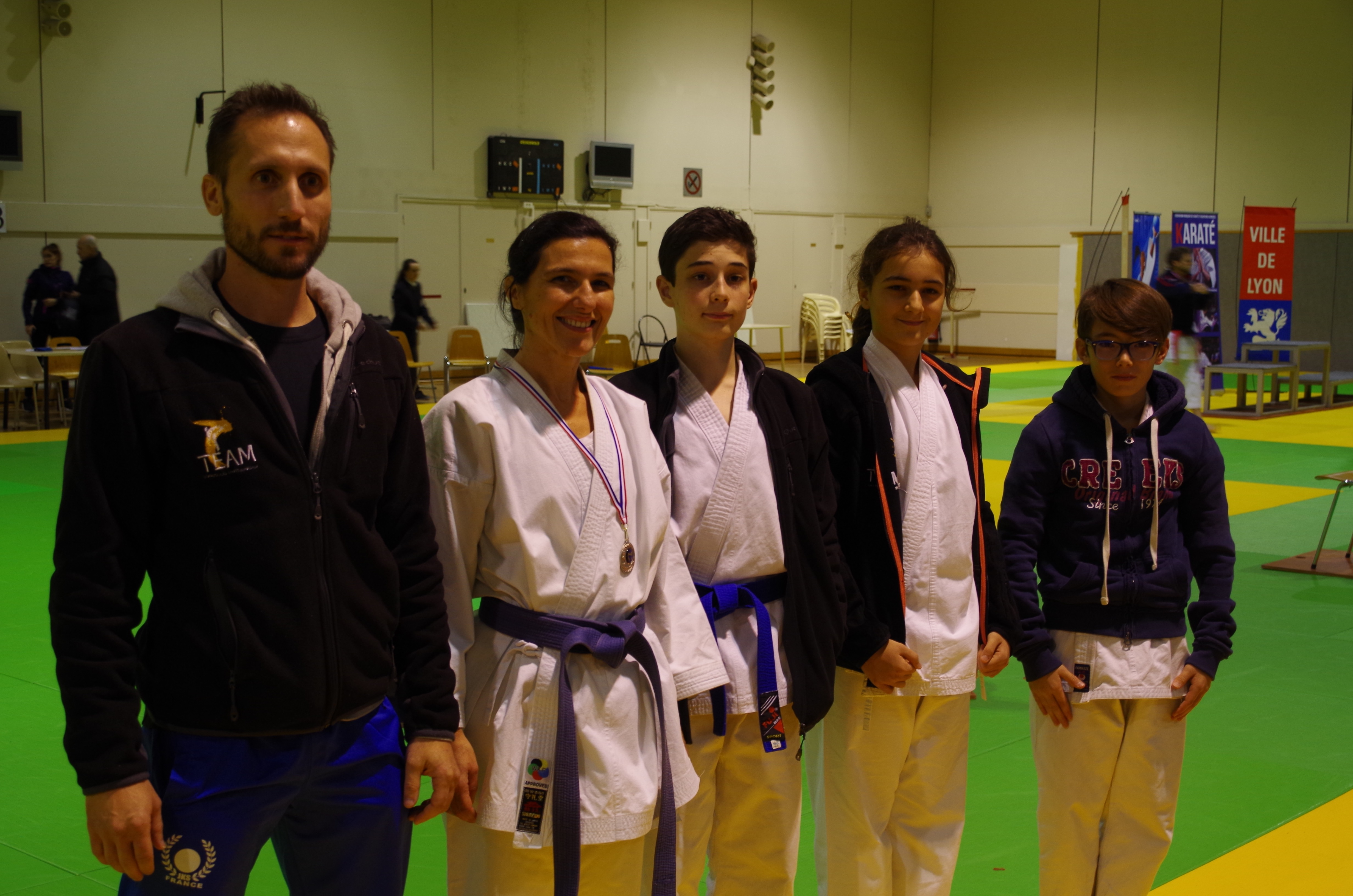 Team en compétition Kata