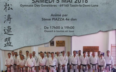 Stage Jks France Tassin 5 mai 2018