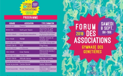 Forum des Associations 2018-2019
