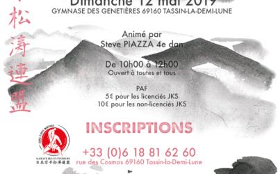 Stage Karaté Jks le 12 mai 2019