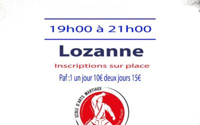 Stage Karaté 22 & 29 octobre